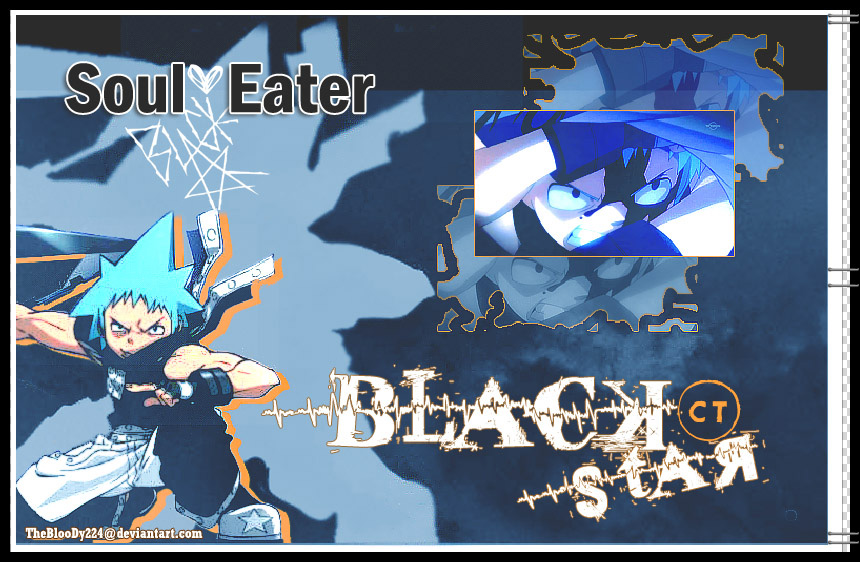 cool black and blue wallpaper. Black Star with Blue