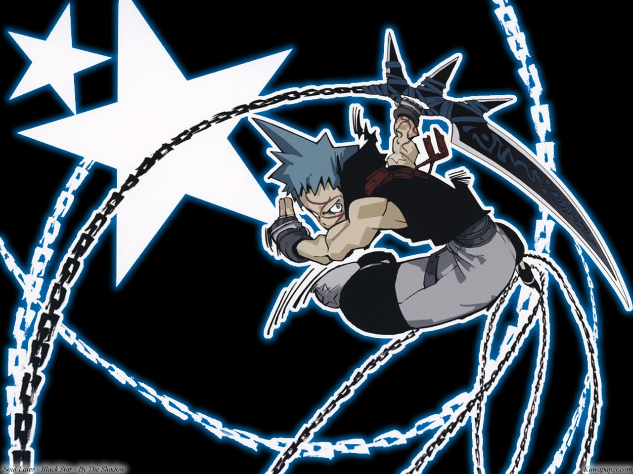 ... soul-eater-black-star-wallpaper ...