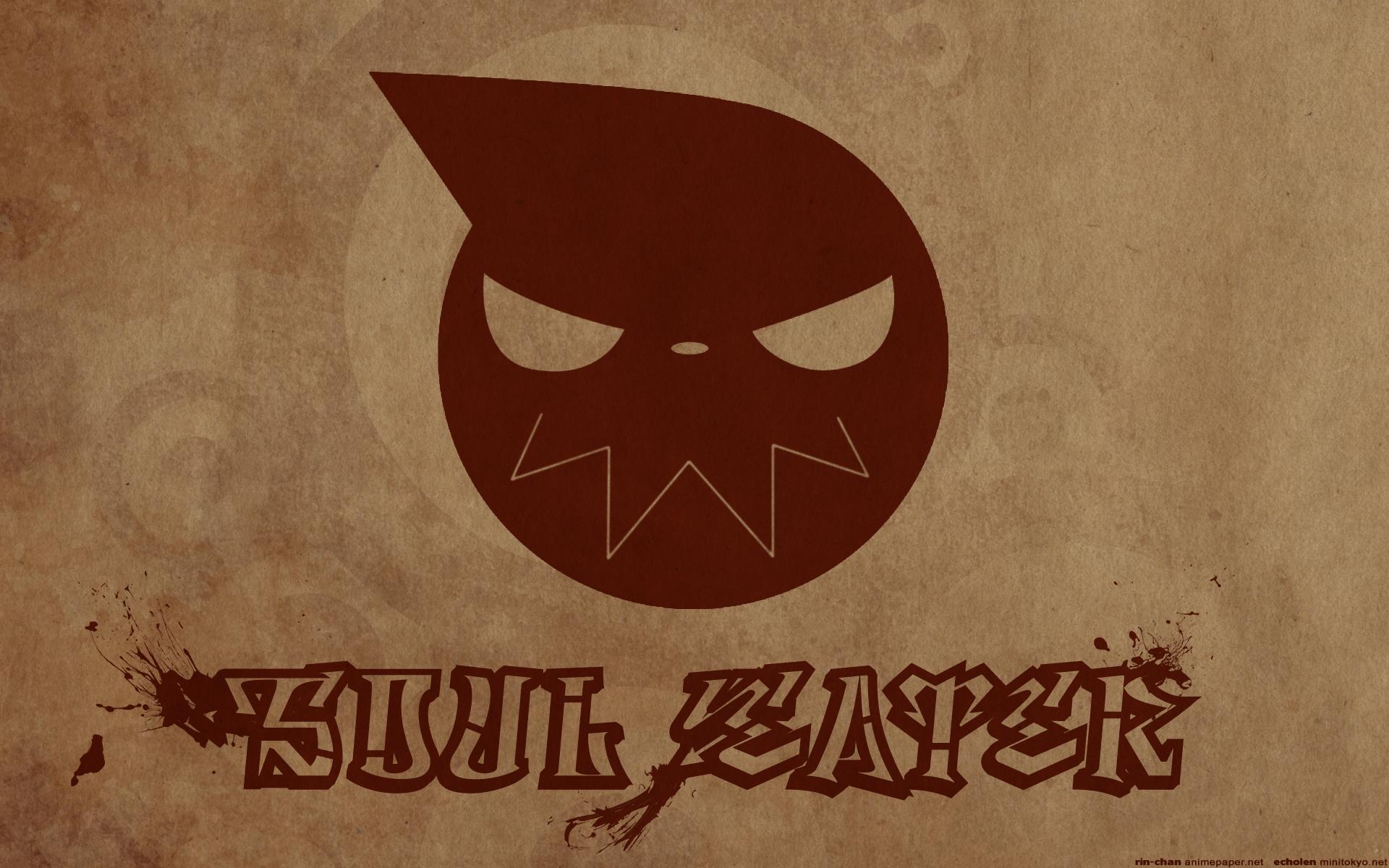 soul eater logo hd widescreen wallpaper soul eater anime